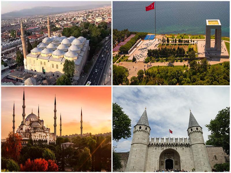BURSA-ÇANAKKALE-EDİRNE-İSTANBUL (OSMANLI TURU)